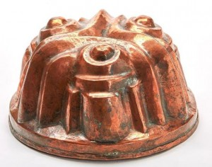 a 19th century jelly mould