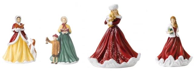 royal doulton christmas 2018 figurines