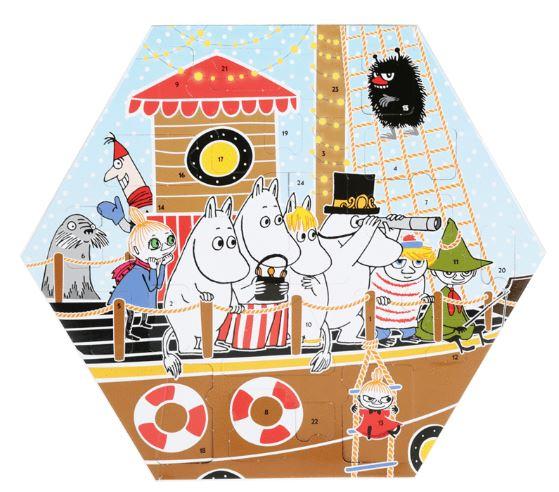 Moomin Christmas Calendar 2018 by Martinex