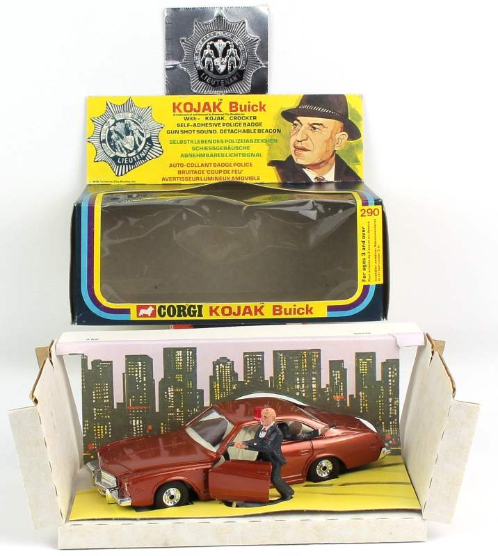 corgi 290 kojak buick with no hat