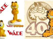 Wade Limited Edition Garfield Whimsies Celebrate 40 Years of Garfield