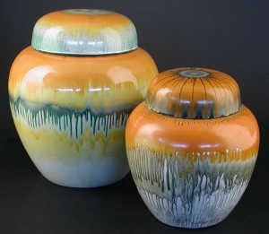 shelley harmony ware ginger jars