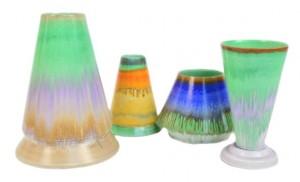 shelley harmony ware vases