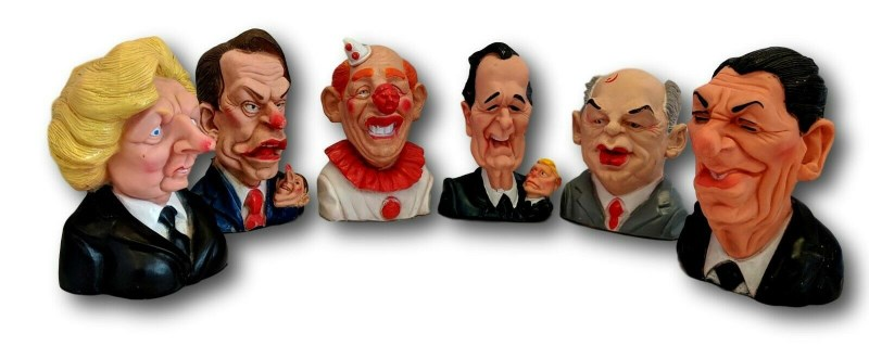 Spitting Image Pet Hates toys set