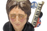 John Lennon Limited Edition Character Jug from Stoke Art Pottery