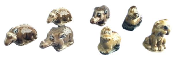wade flintstones dinosaurs variations in colour