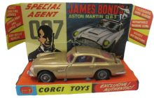 Corgi James Bond Aston Martin DB5 Price Guide