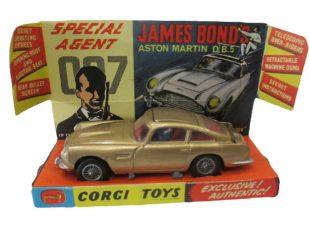 Corgi James Bond Aston Martin DB5 Price Guide