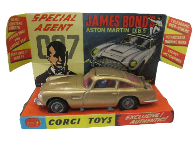 Price Guide Corgi No.261 James Bond Aston Martin DB5