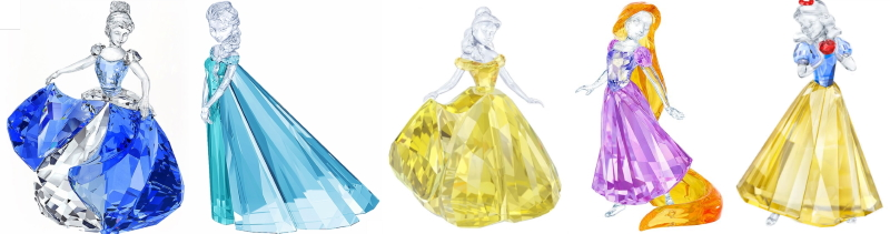 World Collectors Net – Swarovski Limited Edition Disney Princesses