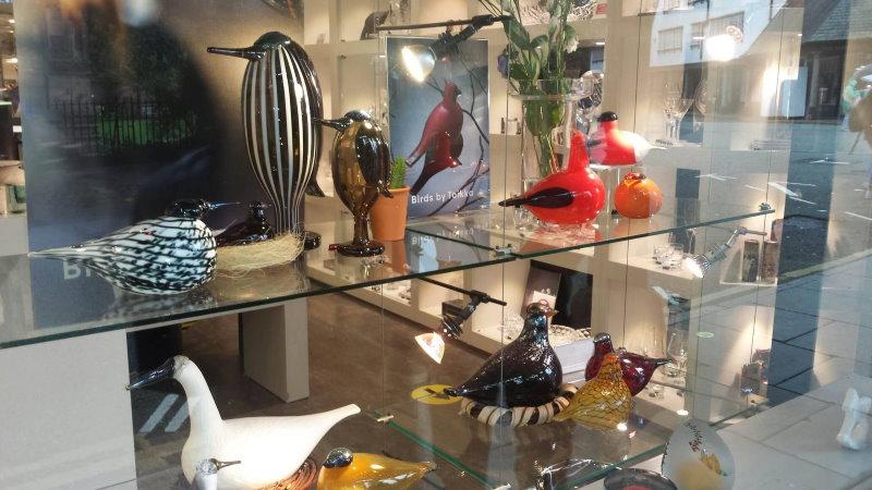birds by toikka display