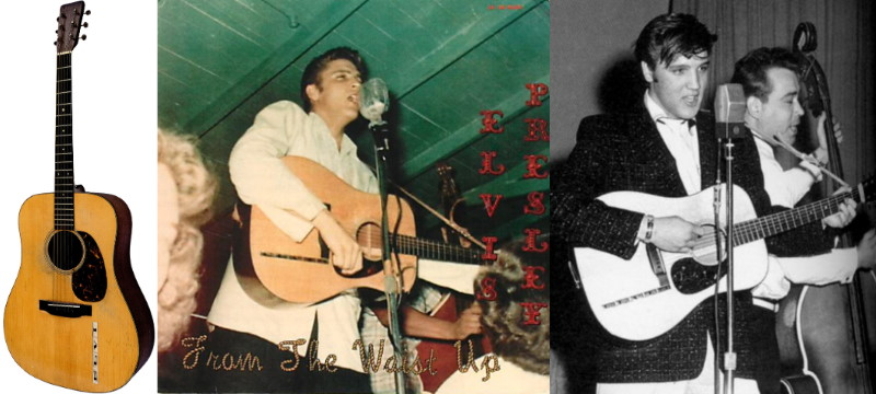 Elvis Presley 1942 Martin D-18 guitar sells for $1.2 million