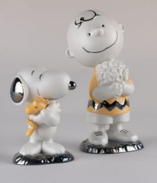 Lladro Charlie Brown and Snoopy