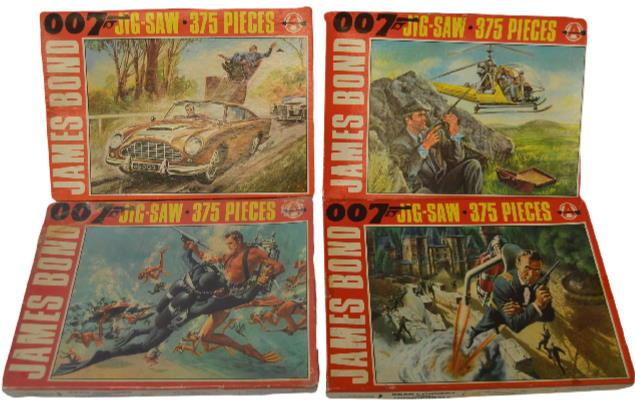 james bond arrow jigsaw puzzles set