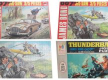 Collecting James Bond 007 Jigsaw Puzzles