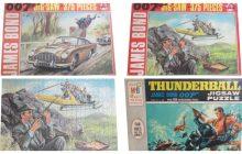 Collecting James Bond 007 Jigsaw Puzzles