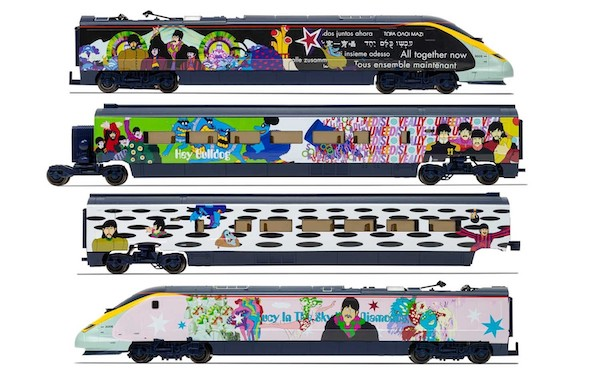 The Beatles Yellow Submarine Eurostar Divisible Coach Set