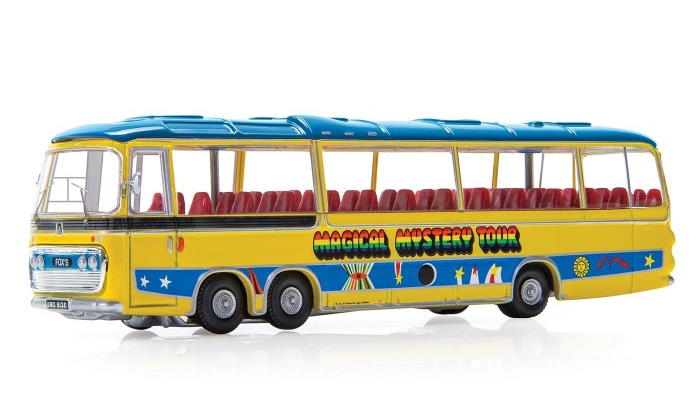 corgi The Beatles Magical Mystery Tour Bus