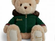 Harrods Nicholas Christmas Bear 2020