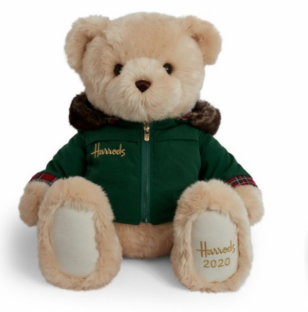 harrods christmas bear 2020 nicholas