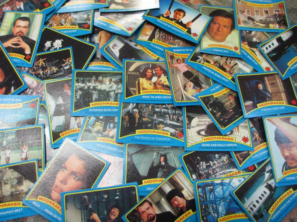 moonraker collectors cards