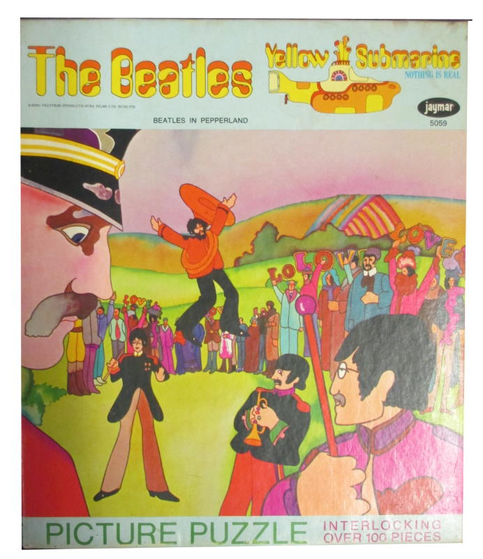 the beatles yellow submaribe jayamr jigsaw puzzle beatles in pepperland