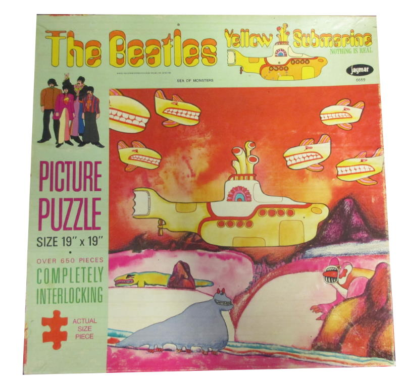 the beatles yellow submaribe jayamr jigsaw puzzle beatles sea of monsters