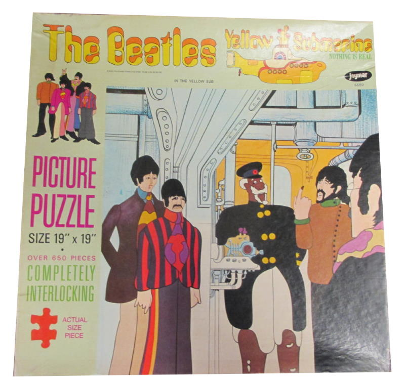 the beatles yellow submaribe jayamr jigsaw puzzle in the yellow sub