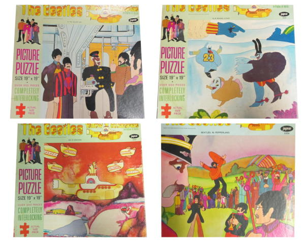 the beatles yellow submarine jigsaw puzzles