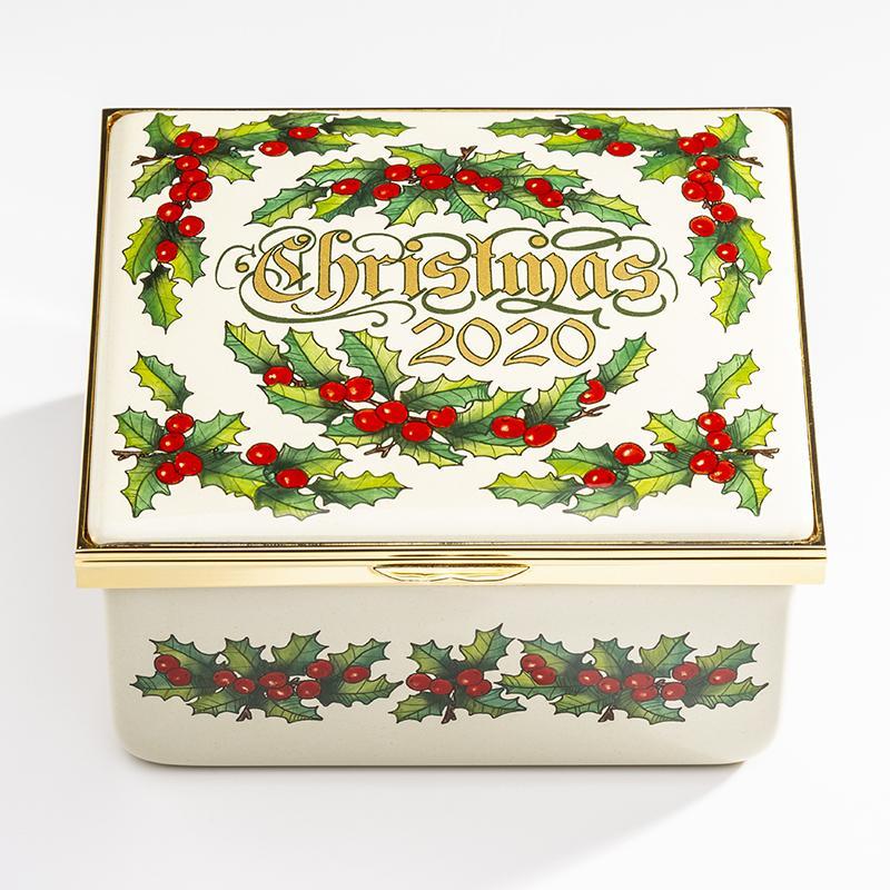 Halcyon Days 70th Birthday Edition 2020 Christmas Musical Box