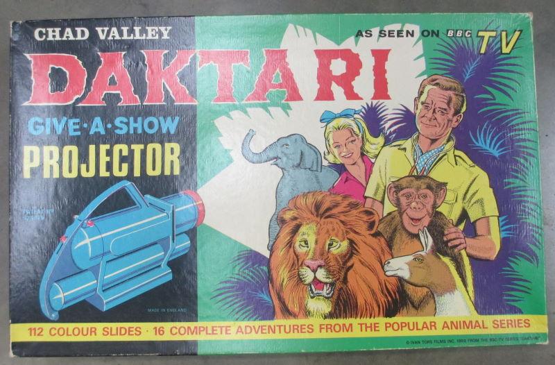 chad valley daktari give a show projector