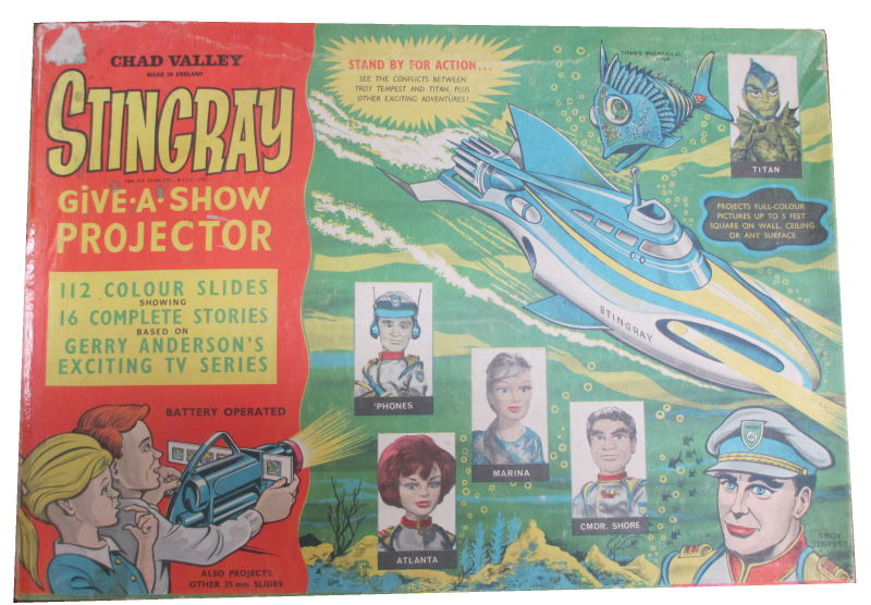 Chad Valley Stingray Give A Show Projector