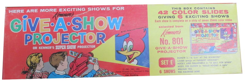 A Kenner Give A Show Projector set