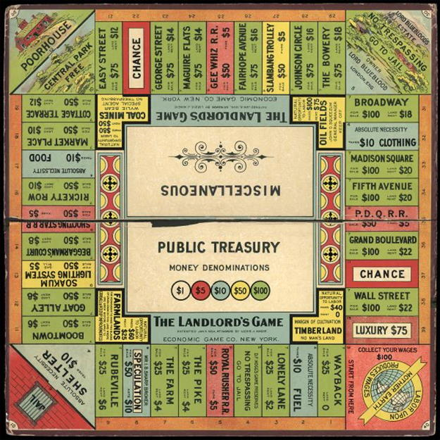 Lizzie Magie The Landlords Game