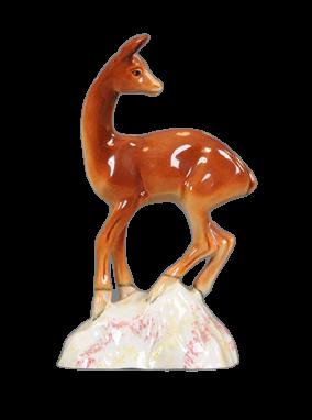 Beswick Deer on Base - Arthur Gredington First Piece for Beswick