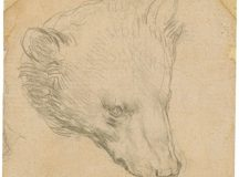 Head of a Bear by Leonardo da Vinci sets world record for drawing at Christies