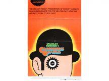 Stanley Kubrick's A Clockwork Orange Movie Poster