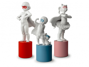 Lladro My Little Heroes Collection