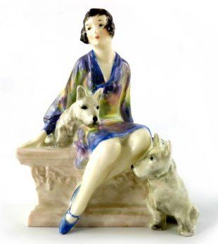 Royal Doulton Scotties Figurine HN1281