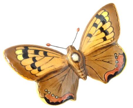 Beswick Small Copper Butterfly 1493