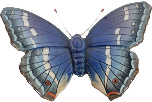 Beswick_Purple_Emperor_Butterfly_Plauqe