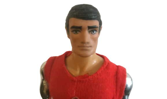 action man bullet man head and face