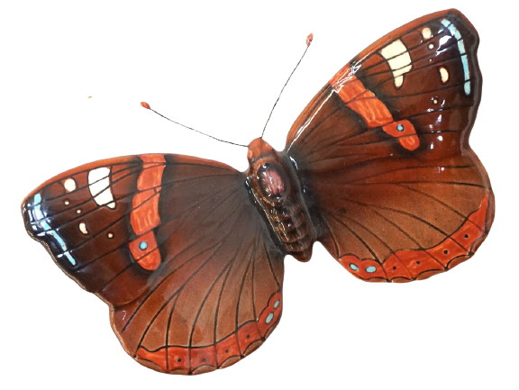 Beswick Red Admiral Butterfly 1488