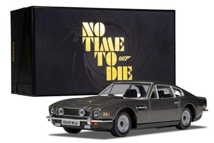 Corgi James Bond No Time To Die Aston Martin V8