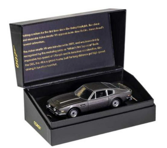 In Box Corgi James Bond Aston Martin V8 No Time To Die