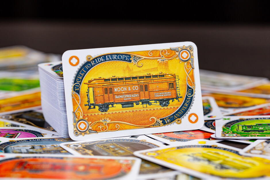 Ticket to Ride Europe 15th Anniversary Collectors Edition Orient Express card