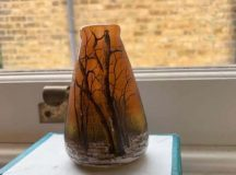 Daum Glass Vase bought for £2 sells for £800